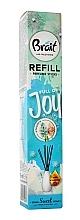 Düfte, Parfümerie und Kosmetik Raumerfrischer Hyazinthe - Brait Home Sweet Home Refreshing Sticks Full of Joy (Refill)
