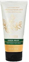 Düfte, Parfümerie und Kosmetik Pflegende Fußcreme mit Eukalyptus und Minze - Bath and Body Works Stress Relief Eucalyptus Spearmint Conditioning Foot Cream