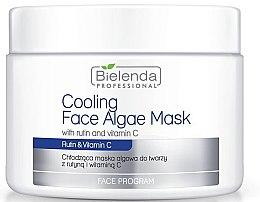 Düfte, Parfümerie und Kosmetik Alginat-Gesichtsmaske mit Vitamin C für empfindliche, zu Akne neigender Haut - Bielenda Professional Cooling Face Algae Mask