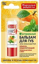 Düfte, Parfümerie und Kosmetik Lippenbalsam mit Pfefferminze, Orangenblütenöl und Bio-Kollagen - Fito Kosmetik Volksrezepte