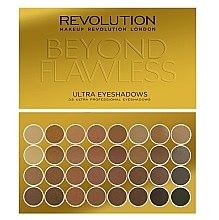 Düfte, Parfümerie und Kosmetik Lidschattenpalette mit 32 Farben - Makeup Revolution Ultra 32 Shade Palette Beyond Flawless