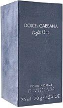 Düfte, Parfümerie und Kosmetik Dolce & Gabbana Light Blue Pour Homme - Parfümierter Deostick