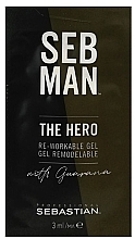 Düfte, Parfümerie und Kosmetik Modellierendes Haarstylinggel mit Gurana - Sebastian Professional Seb Man The Hero (Mini)