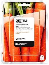 Düfte, Parfümerie und Kosmetik Glättende Tuchmaske mit Karottenextrakt - Superfood For Skin Smoothing Sheet Mask