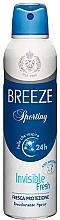Düfte, Parfümerie und Kosmetik Breeze Deo Sporting - Deospray