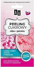 Düfte, Parfümerie und Kosmetik Zuckerpeeling für Gesicht mit Rosenöl und Jasmin - AA Sugar Scrub Rose Peeling