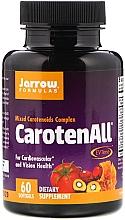 Düfte, Parfümerie und Kosmetik Nahrungsergänzungsmittel CarotenALL - Jarrow Formulas CarotenALL