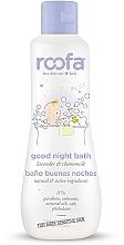 Düfte, Parfümerie und Kosmetik Entspannendes und beruhigendes Baby-Körpergel vor dem Schlafengehen mit Lavendel und Kamillenöl - Roofa Good Night Bath Gel
