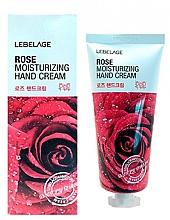 Düfte, Parfümerie und Kosmetik Feuchtigkeitsspendende Handcreme mit Rosenextrakt - Lebelage Rose Moisturizing Hand Cream