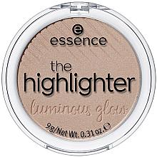 Düfte, Parfümerie und Kosmetik Highlighter für das Gesicht - Essence The Highlighter Lumirous Glow