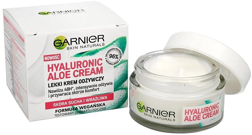 Feuchtigkeitsspendende Gesichtscreme mit Hyaluronsäure und Aloe Vera - Garnier Skin Naturals