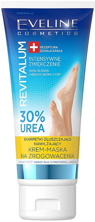 Fußmaske gegen Hornhaut - Eveline Cosmetics Revitalum 35% Urea