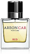 Düfte, Parfümerie und Kosmetik Autoparfüm - Areon Luxury Car Perfume Long Lasting Red