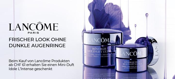 Beim Kauf von Lancôme Produkten ab CHF 61 erhalten Sie einen Mini-Duft Idole L'Intense geschenkt