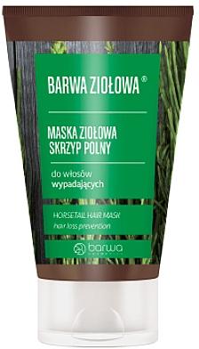 Maske gegen Haarausfall mit Schachtelhalm-Extrakt - Barwa Color Herbal Mask