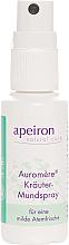 Düfte, Parfümerie und Kosmetik Erfrishendes Kräuter-Mundspray - Apeiron Auromere Herbal Mouth Spray