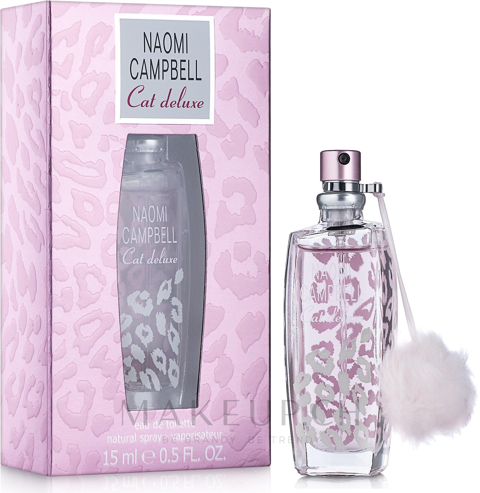 Naomi Campbell Cat Deluxe - Eau de Toilette  — Bild 15 ml
