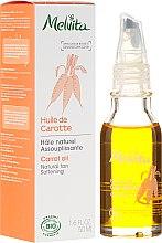 Düfte, Parfümerie und Kosmetik Karotenöl für das Gesicht - Melvita Huiles De Beaute Carrot Oil