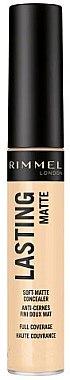 Matter Gesichtsconcealer - Rimmel London Lasting Matte Concealer