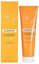Düfte, Parfümerie und Kosmetik Enthaarungscreme mit Süßmandel für empfindliche Haut - Klorane Hair Removal Cream