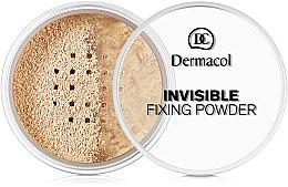 Düfte, Parfümerie und Kosmetik Transparenter Fixierpuder - Dermacol Invisible Fixing Powder