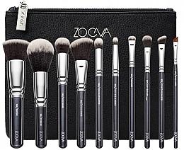 Düfte, Parfümerie und Kosmetik Make-up Pinselset in Kosmetiktasche 10 St. - Zoeva Vegan Prime Set