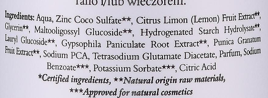 Erfrischender Gesichtsreinigungsschaum mit Granatapfel- und Zitronenextrakt - Clochee Refreshing Cleansing Foam — Bild N3