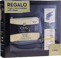 Düfte, Parfümerie und Kosmetik Gesichtspflegeset - Olay Total Effects 7 (Gesichtscreme 50ml + Make-up-Entfernungstücher)