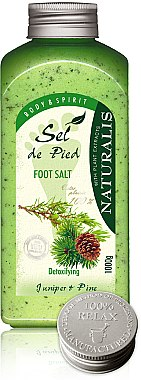 Fußbadesalz - Naturalis Sel de Pied Juniper And Pine Foot Salt