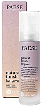 Düfte, Parfümerie und Kosmetik Foundation - Paese Natural Finish Longwear