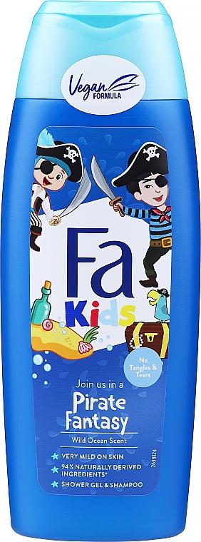 Duschgel und Shampoo für Jungs - Fa Kids Pirate Fantasy