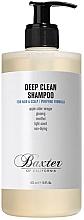 Düfte, Parfümerie und Kosmetik Tief reinigendes Shampoo mit Apfelessig, Ginseng und Menthol - Baxter of California Deep Clean Shampoo