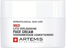 Düfte, Parfümerie und Kosmetik Regenerierende Gesichtscreme - Artemis of Switzerland Med Lipid Replenishing Face Cream