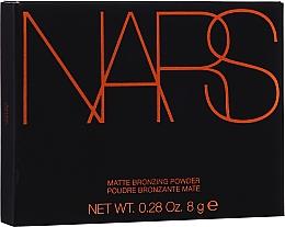 Düfte, Parfümerie und Kosmetik Mattierender Bronzierpuder für das Gesicht - Nars Matte Bronzing Powder