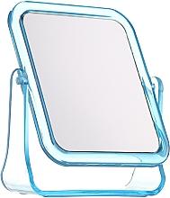 Düfte, Parfümerie und Kosmetik Kosmetikspiegel mit Ständer 5282 quadratisch blau - Top Choice