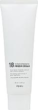 Düfte, Parfümerie und Kosmetik Schützende und feuchtigkeitsspendende Gesichtscreme - A'pieu 18 Cream Fresh Cream