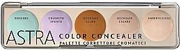 Düfte, Parfümerie und Kosmetik Concealer-Palette für das Gesicht - Astra Make-Up Color Concealer Camouflage