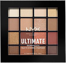 Düfte, Parfümerie und Kosmetik Lidschattenpalette - Nyx Professional Makeup Ultimate Shadow Palette