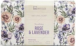 Düfte, Parfümerie und Kosmetik Natürliche beruhigende Handseife mit Rosen- und Lavendelduft - IDC Institute Soothing Hand Natural Soap Rose & Lavender