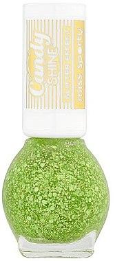 Nagellack mit Glitter - Miss Sporty Candy Shine Glitter Effect — Bild N1