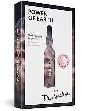 Düfte, Parfümerie und Kosmetik Gesichtsampullen bei müde wirkender, fahler und energieloser Haut Power of Earth - Dr. Spiller Energy Power of Earth