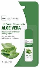 Düfte, Parfümerie und Kosmetik Pflegender Lippenbalsam mit Aloe Vera - IDC Institute Lip Balm Aloe Vera