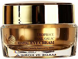 Düfte, Parfümerie und Kosmetik Anti-Aging Gesichtscreme mit Schneckenmucin - Deoproce Snail Galac-Tox Revital Eye Cream