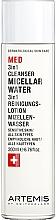 Düfte, Parfümerie und Kosmetik 3in1 Mizellenwasser für empfindliche Haut - Artemis of Switzerland Med 3in1 Cleanser Micellar Water