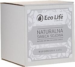 Düfte, Parfümerie und Kosmetik Soja-Duftkerze Erinnerungen an den Sommer - Eco Life Candles
