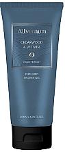 Düfte, Parfümerie und Kosmetik Allvernum Cedarwood & Vetiver - Parfümiertes Duschgel