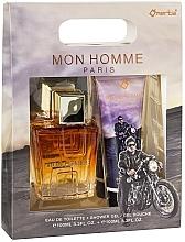 Düfte, Parfümerie und Kosmetik Omerta Paris Mon Homme - Duftset (Eau de Toilette 100ml + Duschgel 100ml)