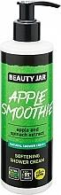 Düfte, Parfümerie und Kosmetik Erweichende Duschcreme mit Apfel- und Spinatextrakt - Beauty Jar Apple Smoothie Softening Shower Cream