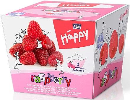 Taschentücher mit Himbeerduft 80 St. - Bella Baby Happy