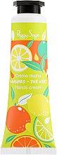 Düfte, Parfümerie und Kosmetik Handcreme - Peggy Sage Agrumes-The Vert Hands Cream